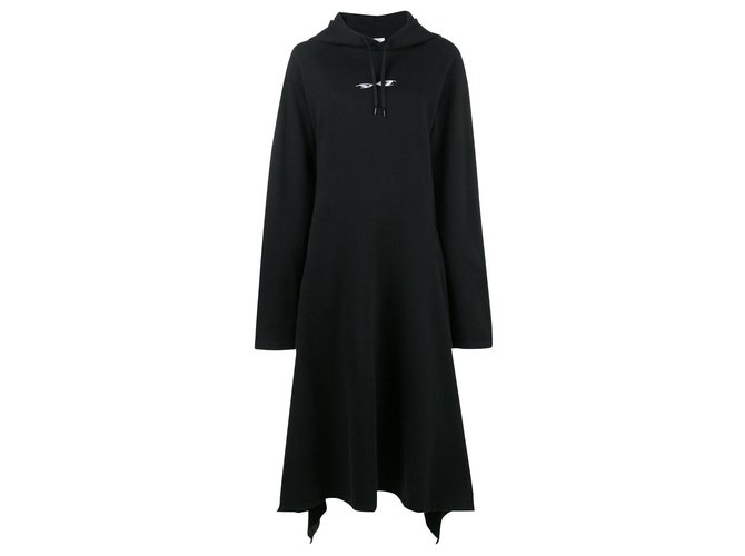 Vêtements Iconic hooded dress Dresses Cotton,Polyester Black ref.171303
