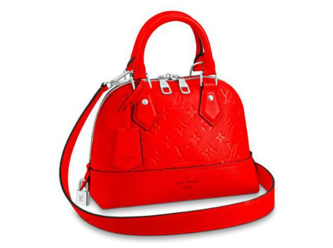 Louis Vuitton Louis Vuitton Alma new Handbags Leather Red ref.171311
