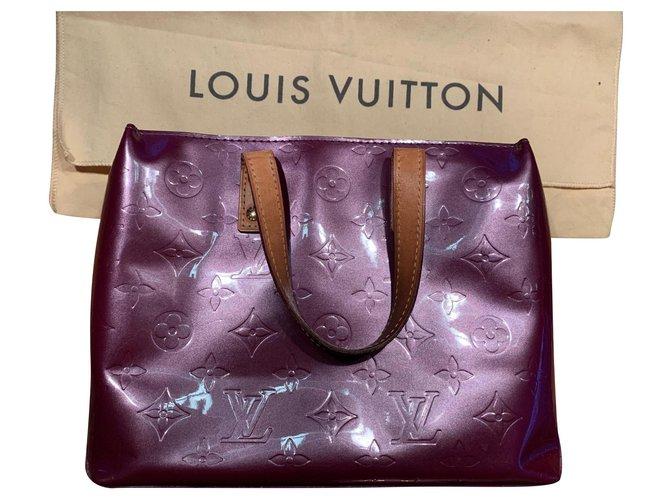 Louis Vuitton Louis Vuitton Read Handbags Patent leather Dark red ref.171728