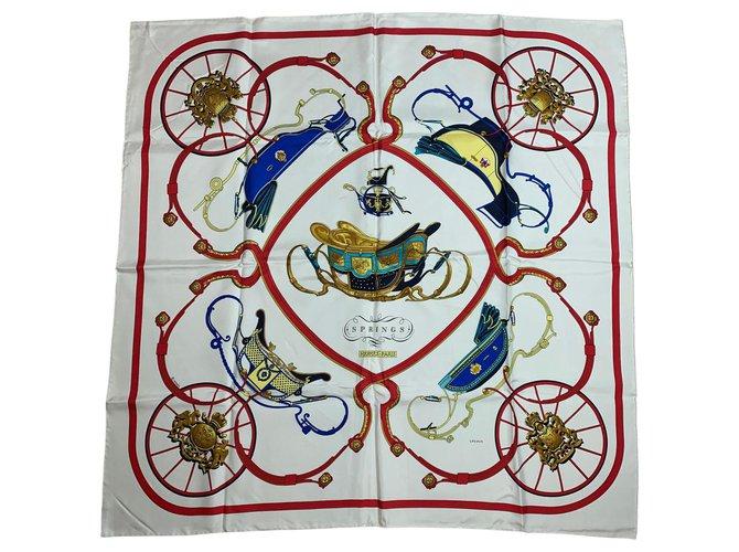 Hermès Springs White Silk  ref.172089