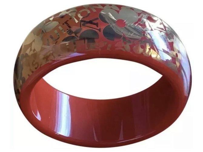 Bracelets Louis Vuitton Bracelets Plastique Orange ref.172135