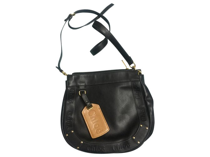 Chloé Chloé bag Handbags Leather Black ref.172487