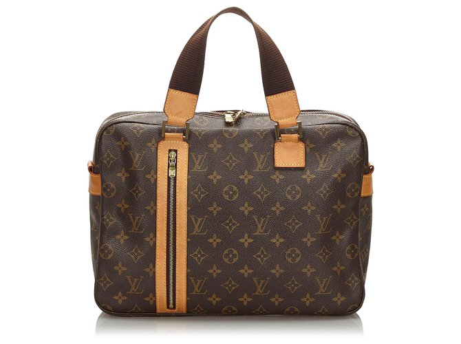 Louis Vuitton Louis Vuitton Brown Monogram Sac Bosphore Misc Leather,Cloth Brown ref.172517