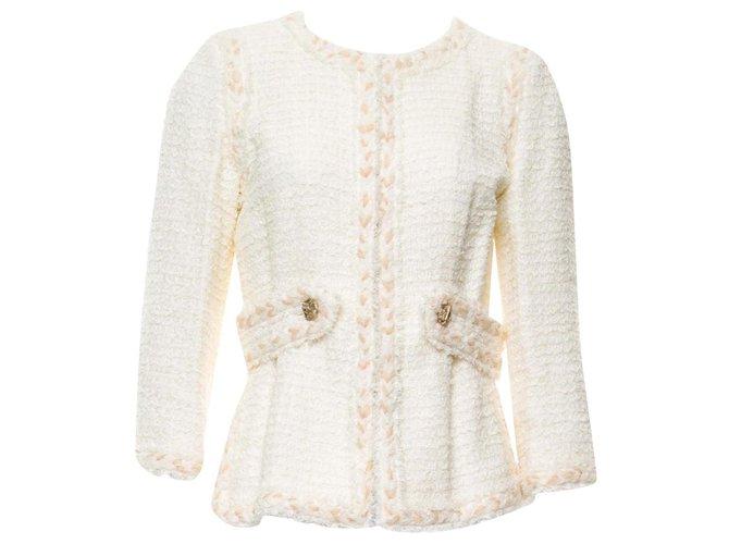 Chanel Chanel Lesage tweed jacket Jackets Tweed Multiple colors ref.172643