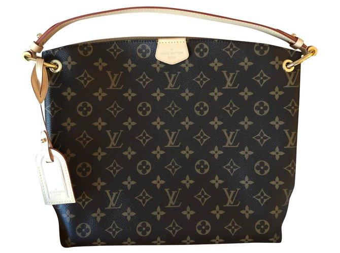 Louis Vuitton Graceful Louis Vuitton new Handbags Other Brown ref.173337