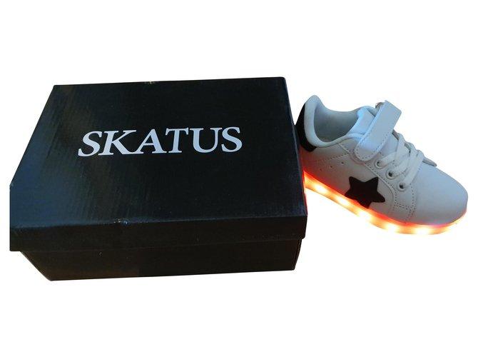 Autre Marque Skatus Sneakers Leather White ref.173385