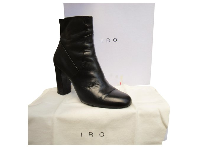 Iro Iro p boots 40 Ankle Boots Leather