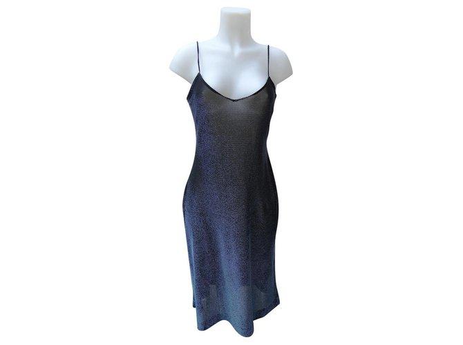 Chloé Dresses Dresses Viscose,Elastane Blue,Turquoise ref.173955