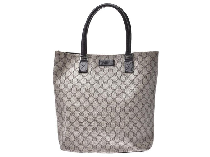 Gucci Gucci Hand Bag Misc Cloth Beige ref.173974