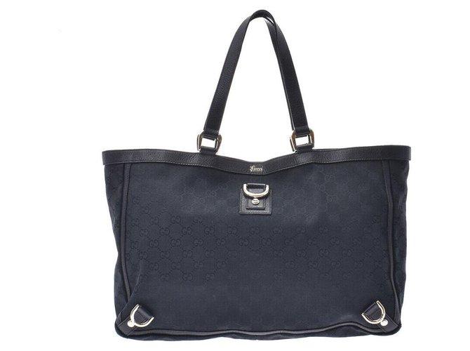 Gucci Gucci Tote bag Misc Cloth Black ref.173976