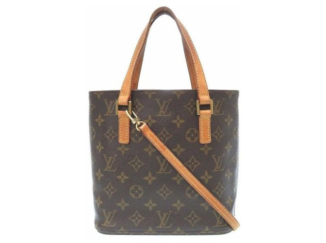 Louis Vuitton Louis Vuitton Vavin PM Handbags Cloth Brown ref.174656