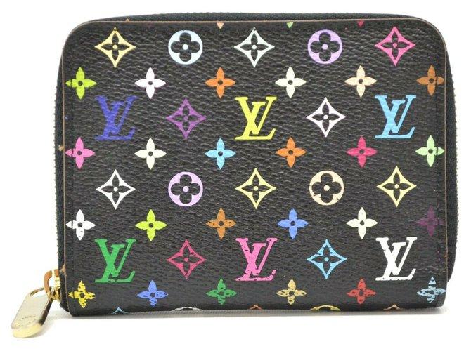 Louis Vuitton Louis Vuitton Zippy Coin Purse Purses, wallets, cases Cloth Black ref.174746