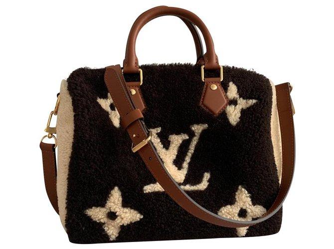 Louis Vuitton Handbags Handbags Other Brown,Dark brown ref.174810