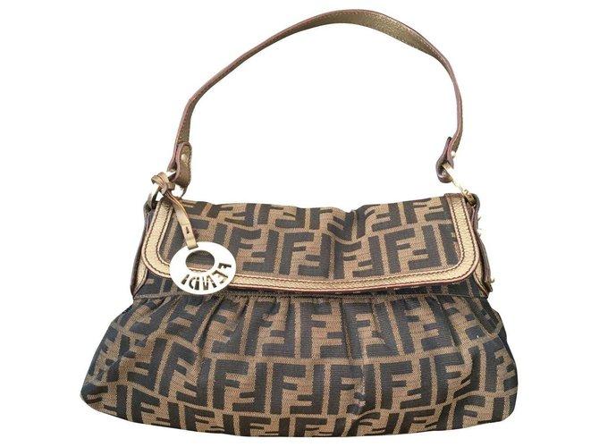 Fendi Chef Bag Handbags Cloth