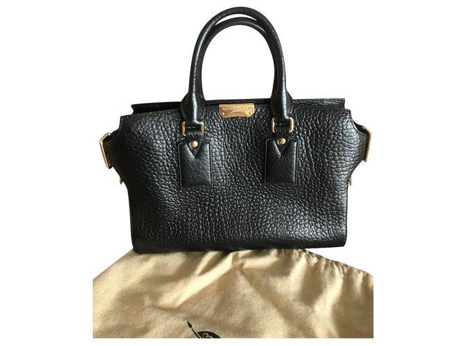 Burberry Handbags Handbags Leather Black ref.175752