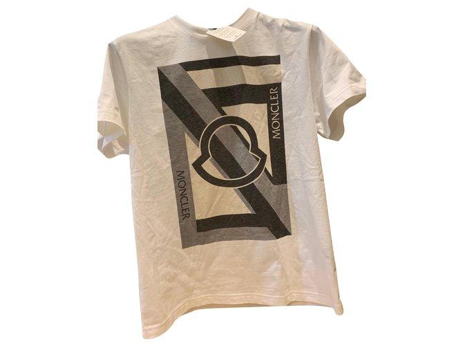 Moncler Moncler Craig Green T Shirt medium Tees Cotton Ebony ref.176821