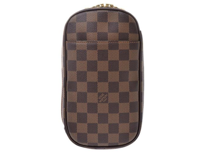 Louis Vuitton Louis Vuitton Pochette Gange Misc Cloth Brown ref.177615