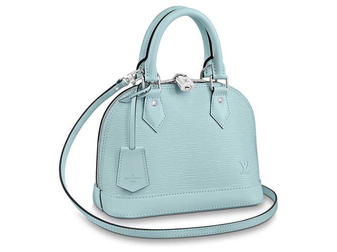 Louis Vuitton LV Alma BB new Handbags Leather Blue ref.177786