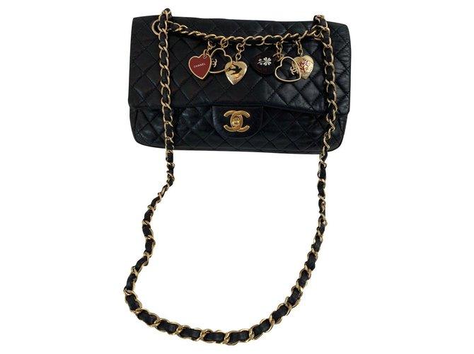 Chanel Chanel Handbags Leather Black ref.178092