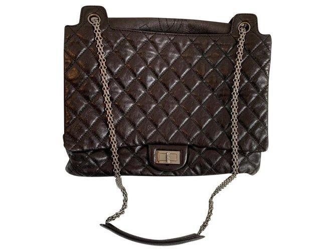 Sacs à main Chanel Chanel Cuir Noir ref.178110