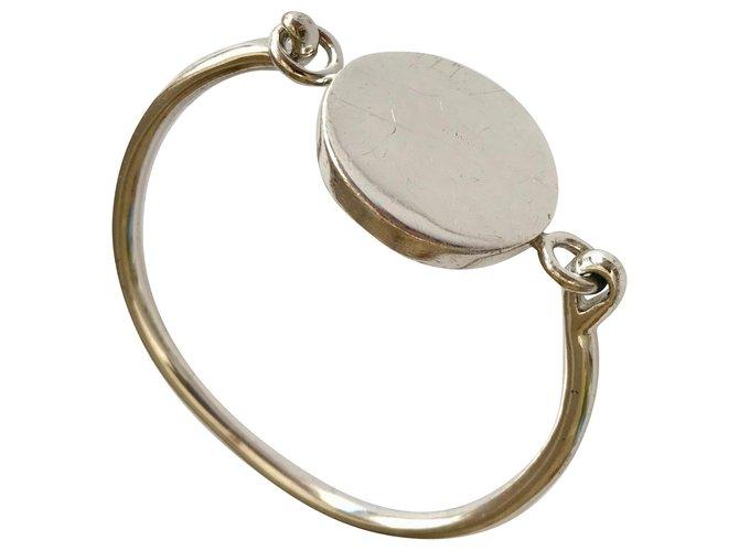 Bracelets Céline Coin Métal Argenté ref.178333
