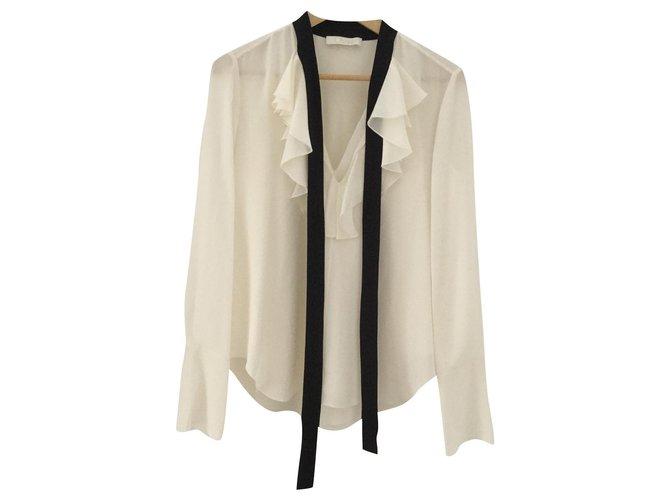 Chloé Tops Tops Silk White ref.178598
