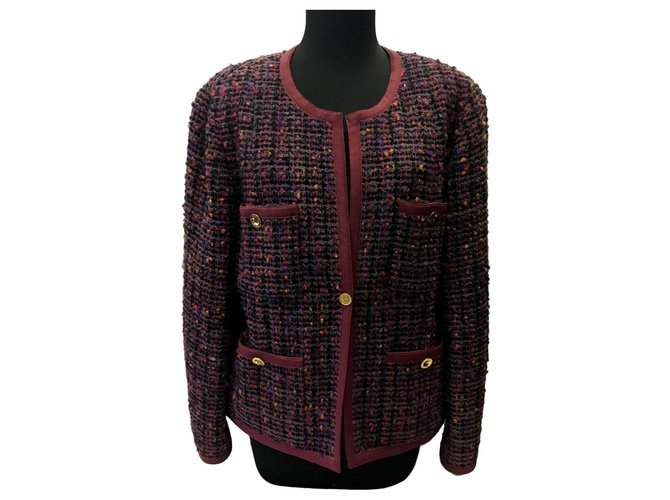 Chanel Short jacket Jackets Tweed Other ref.178731