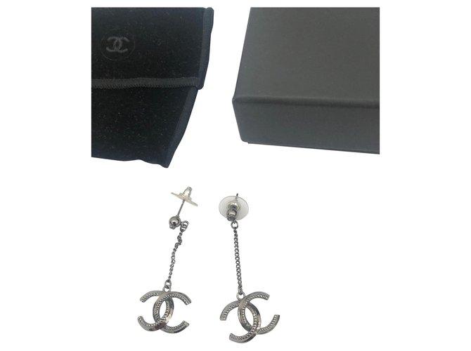 Chanel CC Jewellery sets Metal Grey ref.178882
