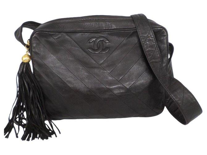 Sacs à main Chanel Sacs à main Cuir Noir ref.179162