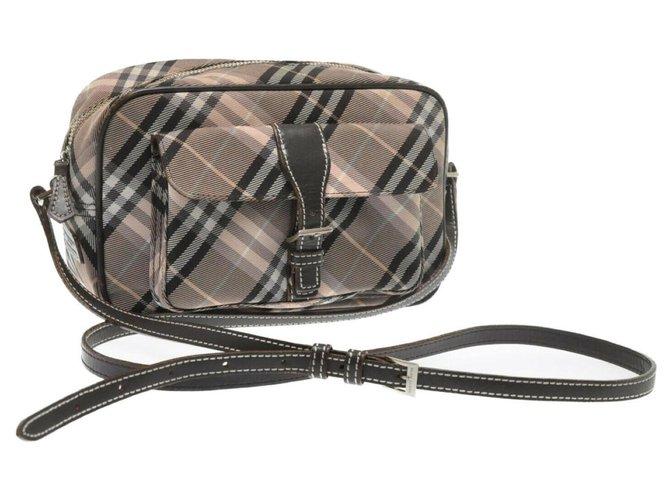 Burberry Burberry Blue Label Handbags Synthetic Grey ref.181156
