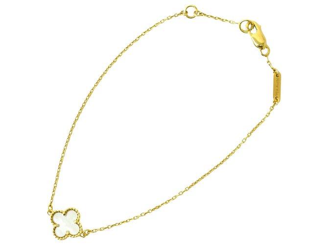 Bracelets Van Cleef & Arpels Van Cleef & Arpels Sweet Alhambra Plaqué or Doré ref.181288
