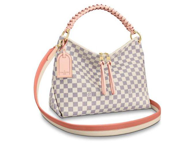 Louis Vuitton LV Beaubourg bag new Handbags Other Beige ref.183354