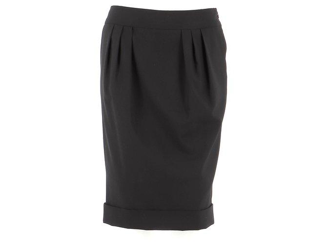 Burberry Skirt suit Skirts Wool Black ref.184390