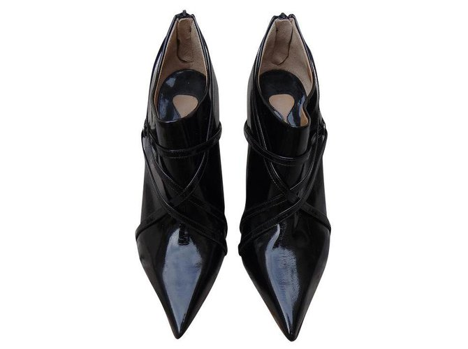 Chloé Ankle Boots Ankle Boots Patent leather Black ref.184467