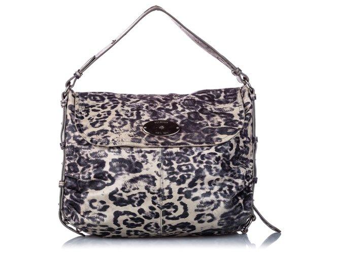 Mulberry Mulberry Brown Leopard Print Pony Hair Hayden Handbags Other,Pony hair Brown,Black,Beige ref.184497