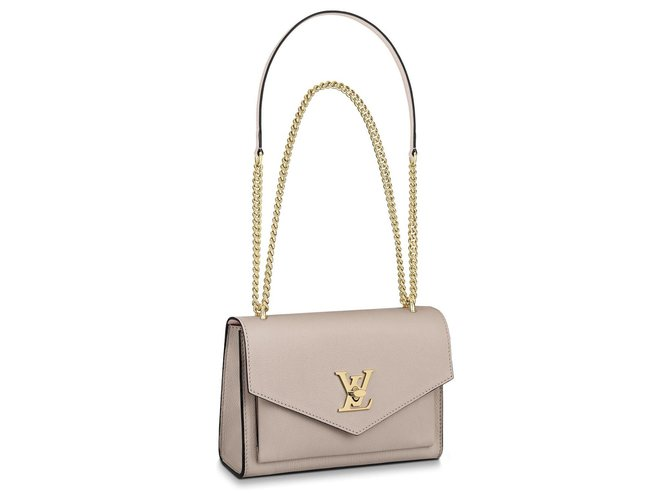Louis Vuitton LV bag new Handbags Leather Beige ref.185923