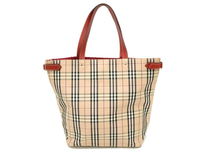 Handbags Cloth Red Ref 186863 Joli Closet