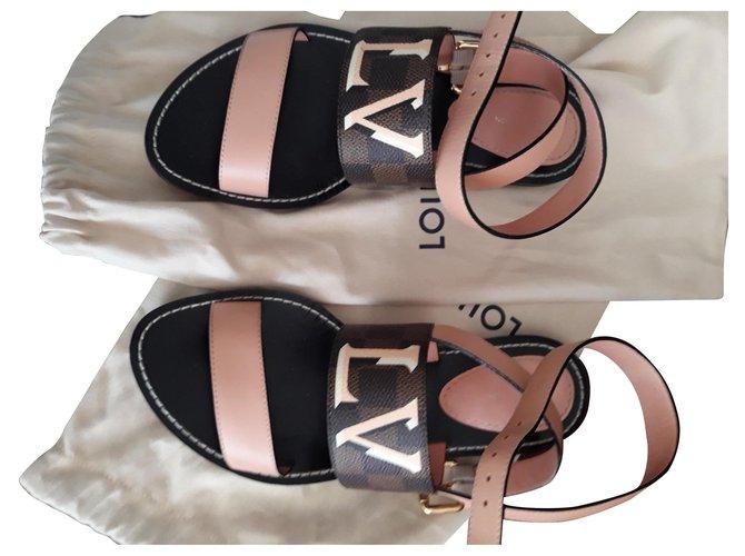 Louis Vuitton PASSENGER louis vuitton sandals Sandals Leather Other ref.186901