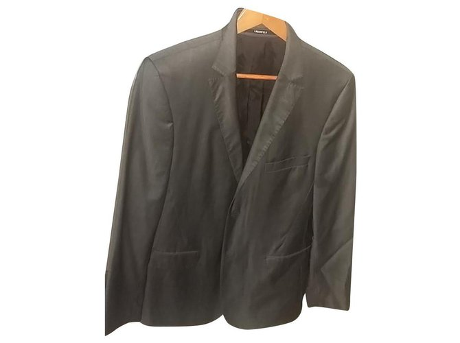Karl Lagerfeld Suits Suits Cotton Dark grey ref.188665