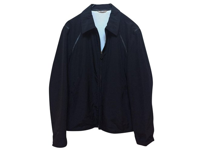 Hermès Jacket Blazers Jackets Polyester Black ref.188813