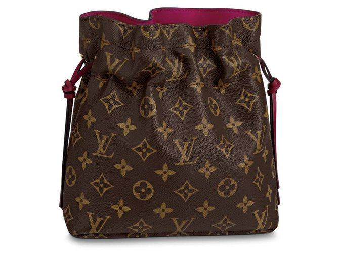 Louis Vuitton Noe Pouch new Clutch bags Other Brown ref.189490