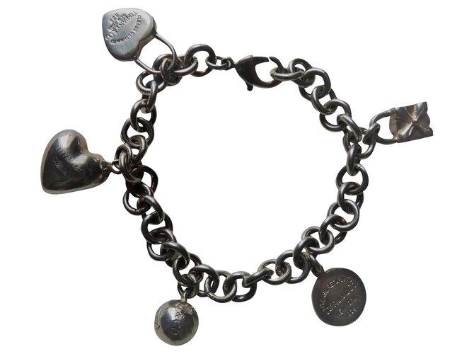 Tiffany & Co Bracelets Silvery Silver  ref.189530