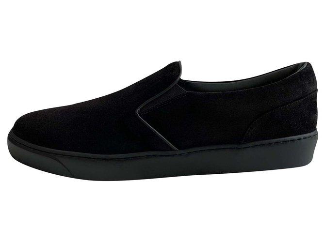 moncler slip on sneakers