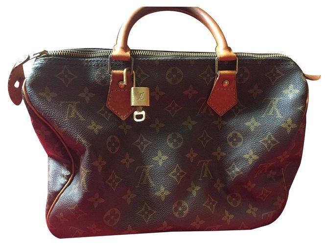 Louis Vuitton Louis Vuitton speedy bag Handbags Leather Other ref.191388