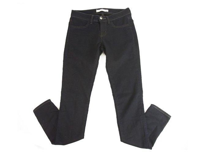 J Brand Skinny Dark Blue Denim Jeans Trousers Pants sz 25 code Gray Viper 5631 Cotton Polyester Lycra  ref.192058