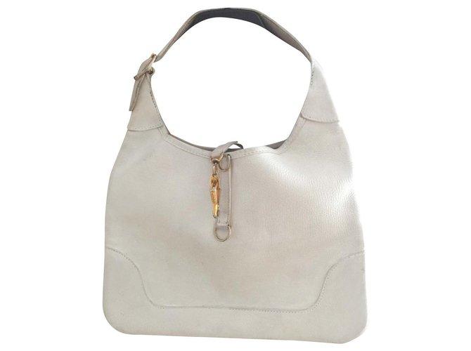 Hermès Hermes Handbags Leather Eggshell ref.192079