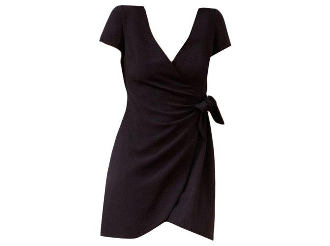 SéZane Model Rossini Dresses Polyester,Elastane Black ref.192931