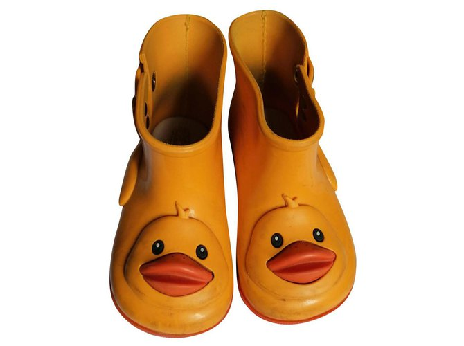 Melissa duck Boots Rubber Yellow ref