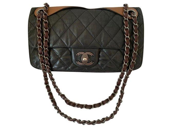 Chanel Chanel Handbags Leather Black ref.197144