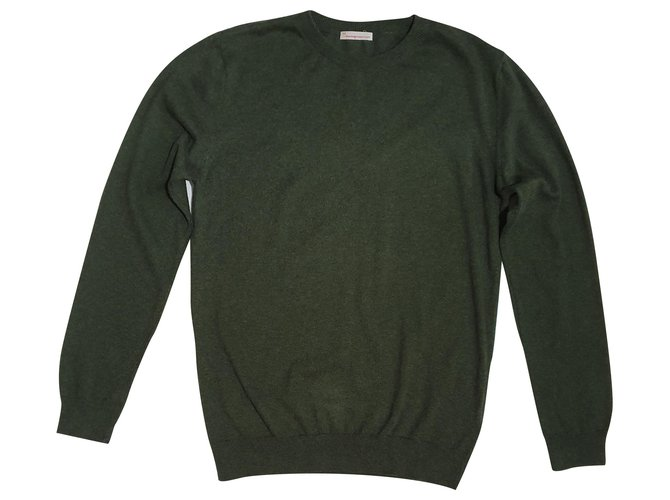 Autre Marque Sweaters Sweaters Cotton,Cashmere Green ref.198178